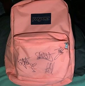 Bag signed by The Story So Far (TSSF) Band